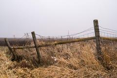 Courrier en bois de barrière Photographie stock libre de droits