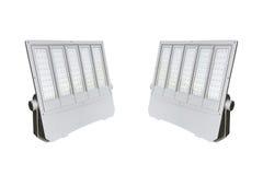 Courrier extérieur de réverbères de LED avec la technologie économiseuse d'énergie Photo stock