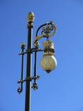 Courrier fleuri de lampe Images libres de droits