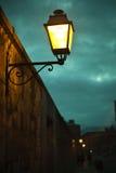 Courrier léger de lampe Images stock