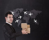 Courrier Stock Photography
