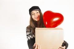 Courrier, paquet et concept de la livraison Image stock