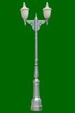 Courriers de lampe sur le graybackground Images stock