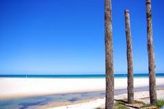 Courriers et plage occidentale images libres de droits