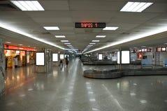 Courroie d'arrivée d'aéroport photographie stock libre de droits