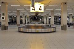 Courroie de bagage photo stock