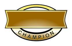 Courroie de champion Images stock