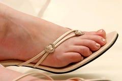 Courroie de chaussure Photos stock