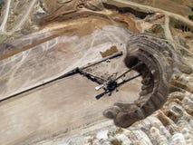 Courroie de transfert de mine de houille image libre de droits