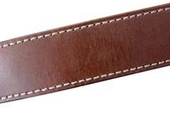 Courroie en cuir Image stock