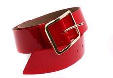 Courroie rouge Image libre de droits