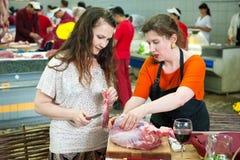 Cours de cuisine Images stock