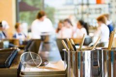 Cours de cuisine Photos libres de droits