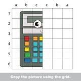 Cours de dessin pour des enfants Jeu éducatif d'enfant Photographie stock libre de droits