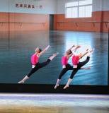 Cours de formation Évacuer-de base de danse images libres de droits