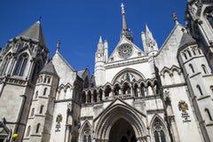 Cours de Justice royales à Londres Photo stock