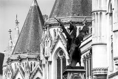 Cours de Justice royales Photographie stock libre de droits