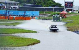 Cours 2017 de Waitara de championnat de Naki 500 Jetsprint Nouvelle-Zélande Photographie stock libre de droits