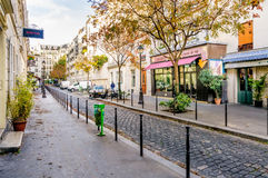 Cours des Petites Ecuries in Paris Stock Photo