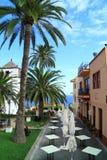 Cours et jardins espagnols Image libre de droits