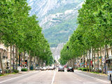 Cours Jean Jaures Grenoble France Stock Image