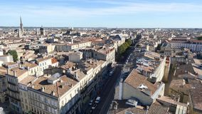 Cours pasteur街道在红葡萄酒 股票录像
