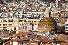 Cours Saleya, la Côte d'Azur agréable et. Photographie stock libre de droits