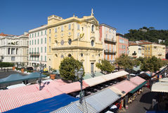 Cours Saleya, Nice, France Stock Photos