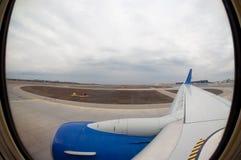 Course aérienne Images libres de droits