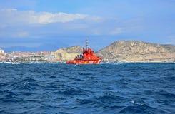 Course Alicante 2017 d'océan de Volvo de bateau de récupération Photo libre de droits