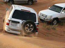 Course au désert Photographie stock