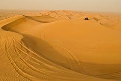Course au désert Image stock