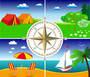 Course d'été Photo libre de droits