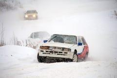 Course d'hiver Photos libres de droits
