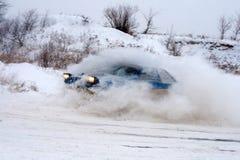 Course d'hiver Images libres de droits