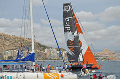 Course d'océan de Volvo 2014 - Team Alvimedica 2015 Photos stock