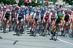 Course de bicyclette Image libre de droits