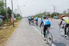 Course de bicyclette Photo libre de droits