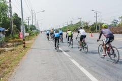 Course de bicyclette Photographie stock