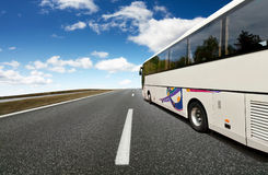Course de bus Image stock