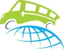 Course de bus illustration de vecteur