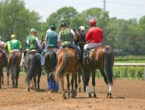 Course de cheval photo libre de droits