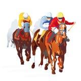 Course de cheval Image stock