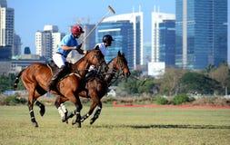 Course de chevaux dans Mumbai Image libre de droits