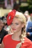 Course de chevaux, jour de dames à l'Ascot Photo stock