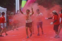 Course 2016 de couleur de l'Indonésie Photo stock
