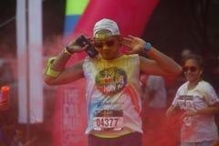 Course 2016 de couleur de l'Indonésie Images libres de droits