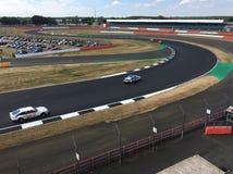 Course de dimanche au classique de Silverstone Photo stock