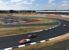 Course de dimanche au classique de Silverstone Image libre de droits
