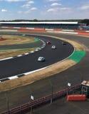 Course de dimanche au classique de Silverstone Photo libre de droits